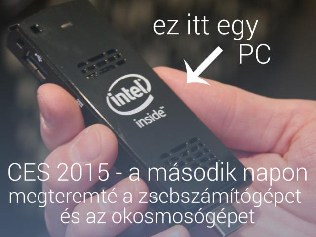 CES 2015 – a második nap