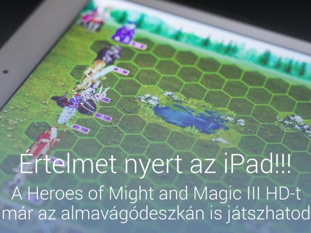 Értelmet nyert az iPad!